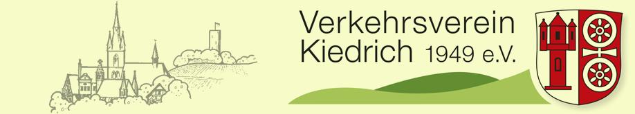 Verkehrsverein Kiedrich Logo